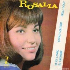 Discos de vinilo: ROSALIA, EP, QUE TAL, DOLLY + 3, AÑO 1964. Lote 62438780