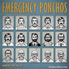 Discos de vinilo: EMERGENCY PONCHOS ANOMALIES EN MI LP . PUNK ROCK POWER POP ROCK AND ROLL BENIDORM. Lote 62447260