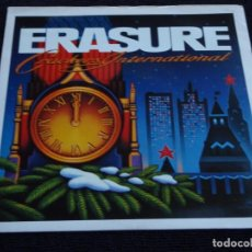 Discos de vinilo: ERASURE ( STOP! - THE HARDEST PART - KNOCKING ON YOUR DOOR - SHE WON'T BE HOME ) ENGLAND-1988 EP45. Lote 62457424