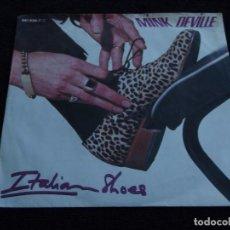 Disques de vinyle: MINK DEVILLE ( ITALIAN SHOES - PRIDE AND JOY ) 1989-GERMANY SINGLE45 POLYDOR. Lote 62459816