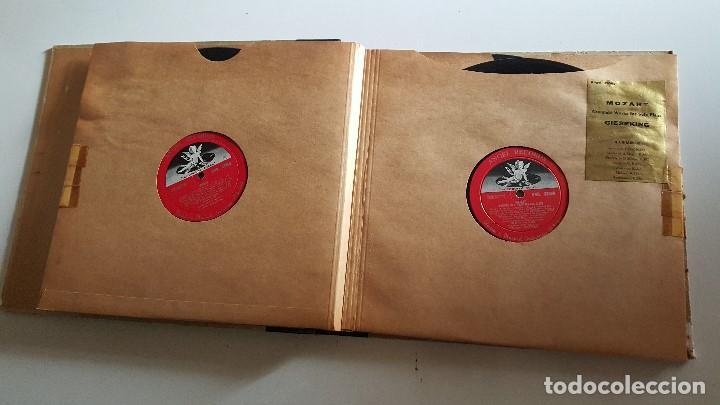 Discos de vinilo: MOZART - COMPLETE WORKS FOR SOLO PIANO- GIESEKING - ANGEL RECORDS - Foto 3 - 62497792