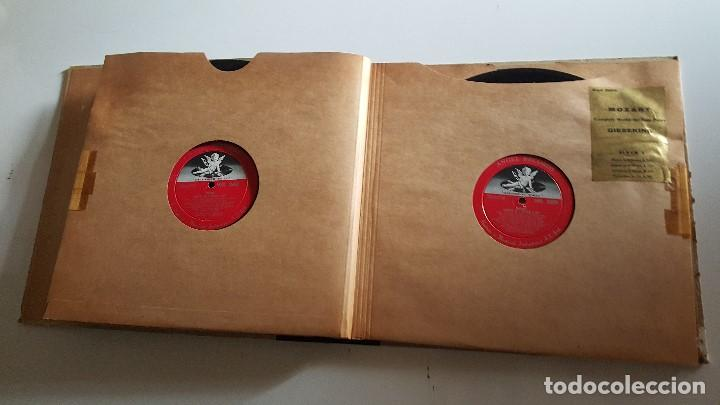 Discos de vinilo: MOZART - COMPLETE WORKS FOR SOLO PIANO- GIESEKING - ANGEL RECORDS - Foto 5 - 62497792