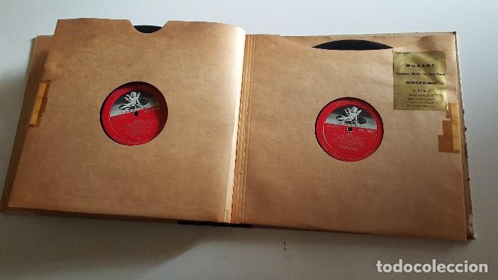 Discos de vinilo: MOZART - COMPLETE WORKS FOR SOLO PIANO- GIESEKING - ANGEL RECORDS - Foto 7 - 62497792