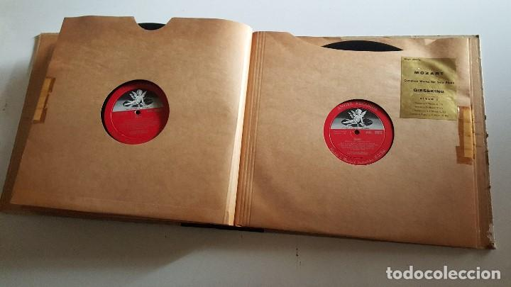 Discos de vinilo: MOZART - COMPLETE WORKS FOR SOLO PIANO- GIESEKING - ANGEL RECORDS - Foto 9 - 62497792