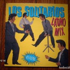 Discos de vinilo: LOS SOLITARIOS - LATINO MIX . Lote 62498412