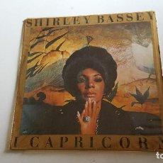 Discos de vinilo: SHIRLEY BASSEY - 1975 - I CAPRICORN. Lote 62503752