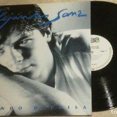 Discos de vinilo: LP ALEJANDRO SANZ - VIVIENDO DEPRISA - WEA 1991. Lote 62503792