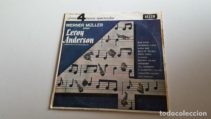 WERNER MULLER PLAYS LEROY ANDERSON -1966 (Música - Discos - LP Vinilo - Jazz, Jazz-Rock, Blues y R&B)