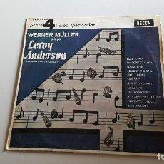 Discos de vinilo: WERNER MULLER PLAYS LEROY ANDERSON -1966. Lote 62504028