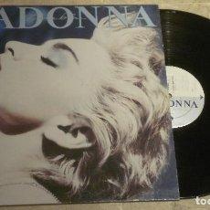 Discos de vinilo: LP MADONNA - TRUE BLUE - SIRE 1986. Lote 62505448