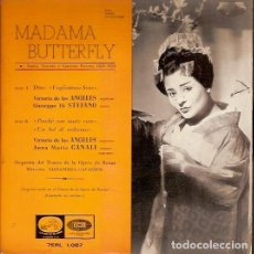 Discos de vinilo: 7ERL 1087 MADAMA BUTTERFLY. Lote 62510468