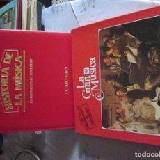 Discos de vinilo: LA GRAN MÚISCA, DE BEETHOVEN A SCHUBERT, 4 DISCOS Y LIBRO. Lote 62511924