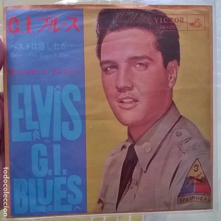ELVIS PRESLEY / ELVIS G.I. BLUES / EDICION JAPONESA (Música - Discos - Singles Vinilo - Rock & Roll)