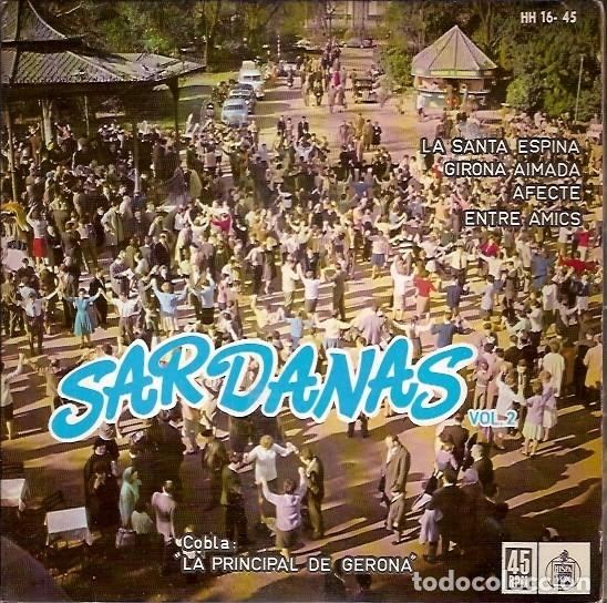 SARDANAS VOL 2 COBLA LA PRINCIPAL DE GERONA (Música - Discos de Vinilo - Maxi Singles - Étnicas y Músicas del Mundo)