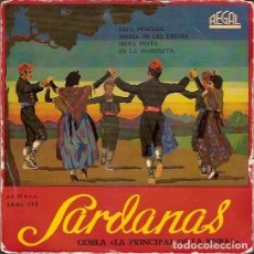 Discos de vinilo: SEDL 115 SARDANAS COBLA LA PRINCIPAL DE LA BISBAL REGAL. Lote 62513556