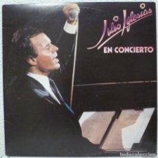 Discos de vinilo: JULIO IGLESIAS EN CONCIERTO (DOBLE LP CBS 1983). Lote 62533700