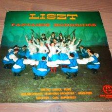 Discos de vinilo: LISZT FANTASIE HONGROISE SONDRA BIANCA SINGLE VINILO CLASICA SVG. Lote 62539092