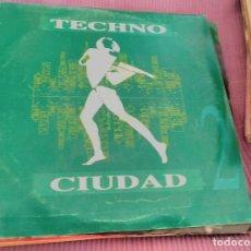 Discos de vinilo: TECHNO CIUDAD II. Lote 62544368