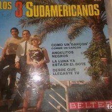 Discos de vinilo: LOS 3 SUDAMERICANOS ANGELITOS NEGROS. Lote 62546204