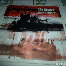 Discos de vinilo: DON DIABLO ALBUM SAMPLER. Lote 62547764