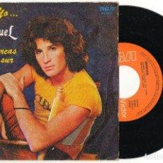 Discos de vinilo: SINGLE EMMANUEL - TU Y YO - SI TE ACERCAS HACIA EL SUR - RCA 1982. Lote 62551572