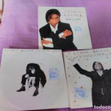 Discos de vinilo: TASMIN ARCHER LOTE 3 SINGLES. Lote 62551956