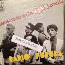 Discos de vinilo: RADIO FUTURA: ENAMORADO DE LA MODA JUVENIL / IVONNE SG 1980 HISPAVOX. Lote 62502920
