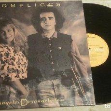 Discos de vinilo: LP COMPLICES - ANGELES DESANGELADOS - RCA BMG 1989. Lote 62555572