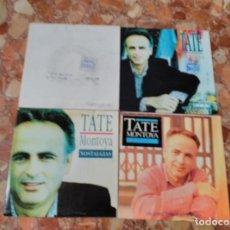 Discos de vinilo: TATE MONTOYA LOTE 4 SINGLES. Lote 62557496