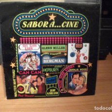 Discos de vinilo: SABOR A.... A CINE EP SPAIN 1993 PDELUXE. Lote 62565068