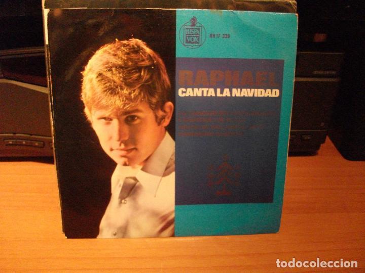 RAPHAEL LA CANCION DEL TAMBORILERO SINGLE SPAIN 1965 PDELUXE (Música - Discos de Vinilo - EPs - Solistas Españoles de los 70 a la actualidad)