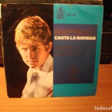 Discos de vinilo: RAPHAEL LA CANCION DEL TAMBORILERO SINGLE SPAIN 1965 PDELUXE. Lote 62565680
