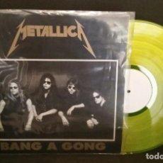 Discos de vinilo: METALLICA RARO VINILO BOOTLEG -BANG A GONG-. Lote 62569560