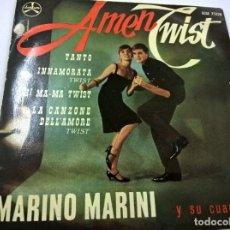 MARINO MARINI Y SU CUARTETO -AMEN TWIST + 3 -EP-N