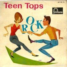 Discos de vinilo: EP LOS TEEN TOPS : ( ROCK) : SIGUE LLAMANDO, LA LARGUIRUCHA SALLY, ME QUEDE CONTIGO, QUIERO SER LIBR. Lote 62603148