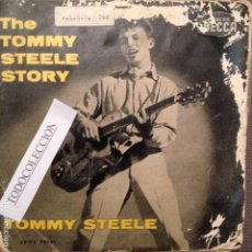 Discos de vinilo: THE TOMMY STEELE STORY TAKE ME BACK BABY/WATER WATER +2 EP ESPAÑA . Lote 62617828