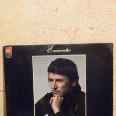 Discos de vinilo: DISCO DE VINILO - LP - ALBUM - DIEGO CLAVEL - ENCUENTRO - PORTADA ABIERTA - BASF 1976 - FLAMENCO. Lote 62641248