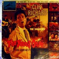 Discos de vinilo: SINGLE DE - CLIF RICHAR - 1962 .THE YOUNG ONES. LOS JOVENES. Lote 62641736