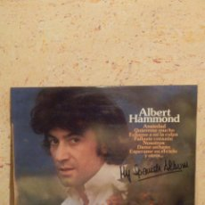 Discos de vinilo: DISCO DE VINILO - LP - ALBUM - ALBERT HAMMOND - MY SPANISH ALBUM - 1976 -.EPIC. Lote 62645716