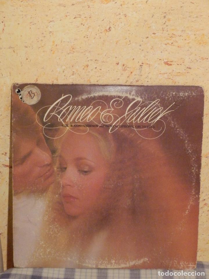 DISCO DE VINILO - ALEC R.COSTANDINOS AND THE SYNCOPHONIC ORCHESTRA,ROMEO & JULIET - 1979 (Música - Discos - LP Vinilo - Orquestas)