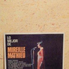 Discos de vinilo: DISCO DE VINILO - ALBUM - LP - MIREILLE MATHIEU - LO MEJOR DE - SONO PLAY BARCLAY - AÑO 1968. Lote 62647408