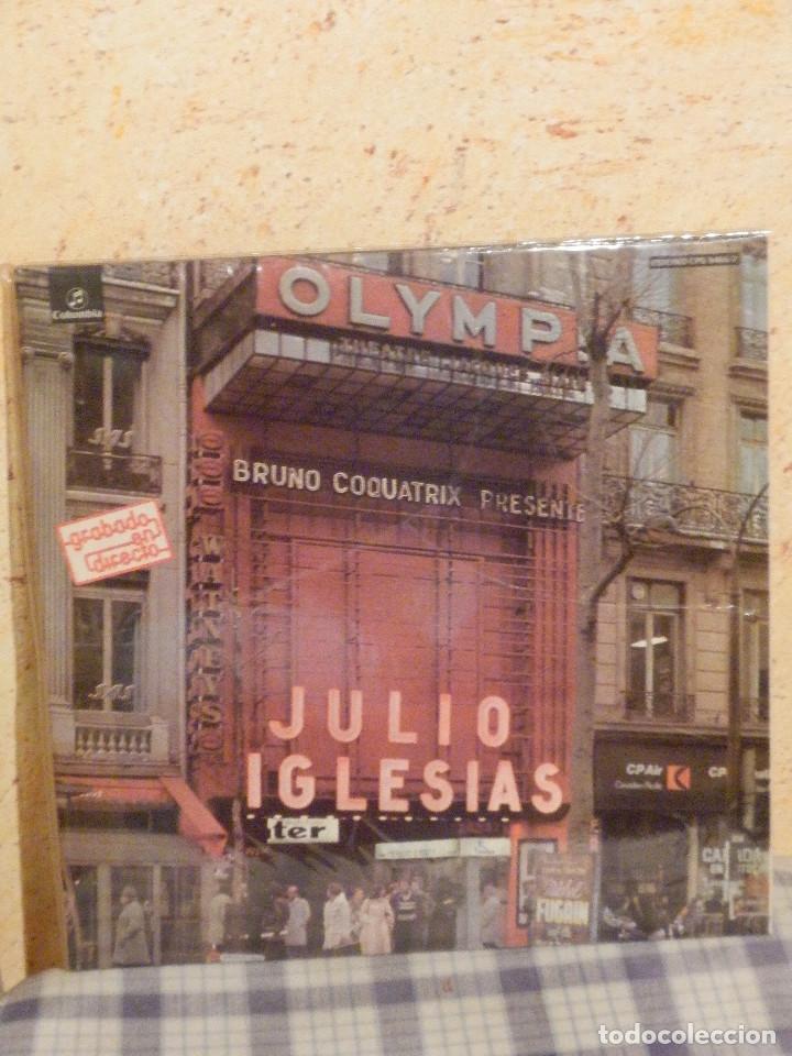 Discos de vinilo: DISCO DE VINILO - ALBUM - Doble LP - Julio Iglesias - En el Olympia - Grabado en Directo - AÑO 1976 - Foto 2 - 239930405