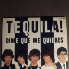Discos de vinilo: DISCO DE VINILO - SINGLE - TEQUILA - DIME QUE ME QUIERES - DEJENME DORMIR - ZAFIRO 1980 - IMPECABLE. Lote 149693109