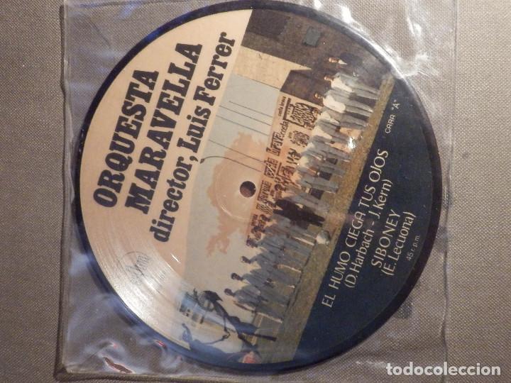 MUY CURIOSO Y RARO - DISCO DE VINILO - EP - ORQUESTA MARAVELLA - SAYTON - 1971 - IMPECABLE (Música - Discos - Singles Vinilo - Orquestas)