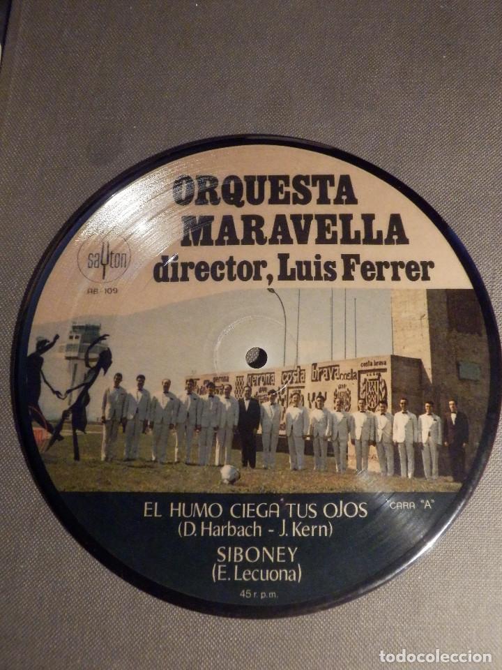 Discos de vinilo: Muy curioso y raro - DISCO DE VINILO - EP - Orquesta Maravella - Sayton - 1971 - IMPECABLE - Foto 2 - 62648276