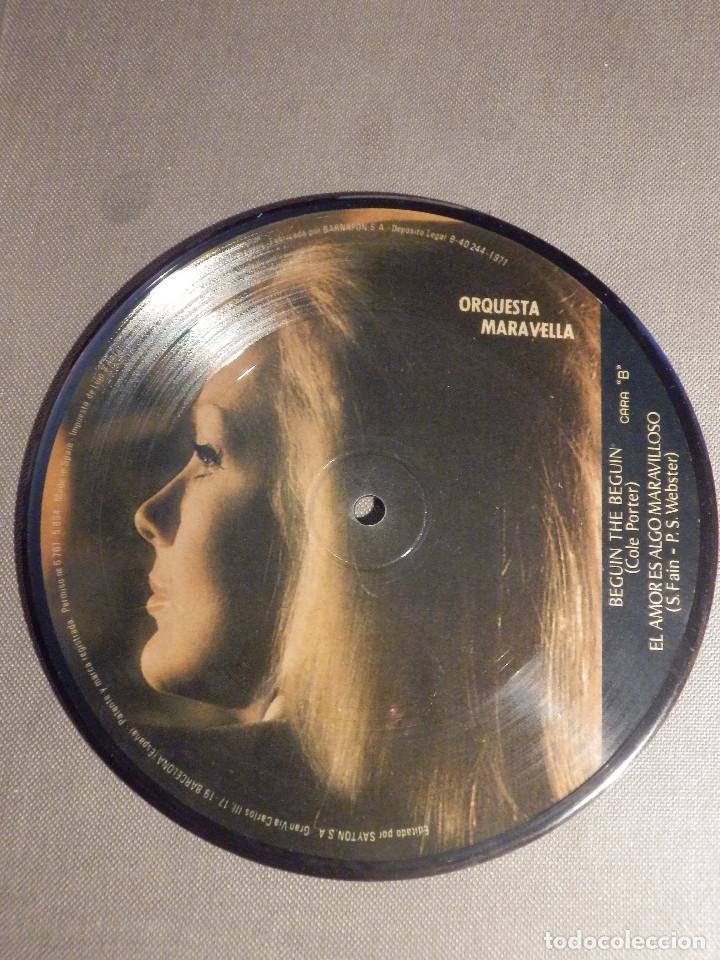 Discos de vinilo: Muy curioso y raro - DISCO DE VINILO - EP - Orquesta Maravella - Sayton - 1971 - IMPECABLE - Foto 3 - 62648276
