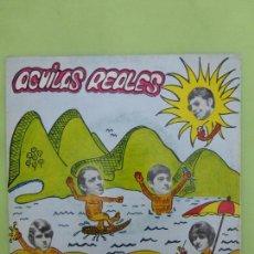 Discos de vinilo: AGUILAS REALES - LA RUINA - SINGLE BERTA 1969 - A RARE SPANISH GARAGE & FREAKBEAT - BUEN ESTADO -. Lote 62652668