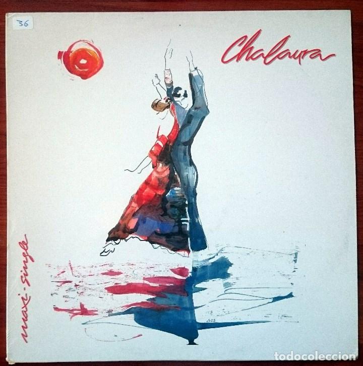 CHALAURA (PEPE DE LUCÍA). CHALAURA, MAXISINGLE TWINS T-1259, SPAIN, 1988. M/VG+. UNPLAYED. (Música - Discos de Vinilo - Maxi Singles - Flamenco, Canción española y Cuplé)