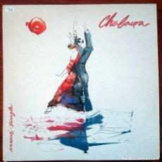Discos de vinilo: CHALAURA (PEPE DE LUCÍA). CHALAURA, MAXISINGLE TWINS T-1259, SPAIN, 1988. M/VG+. UNPLAYED.. Lote 62655868