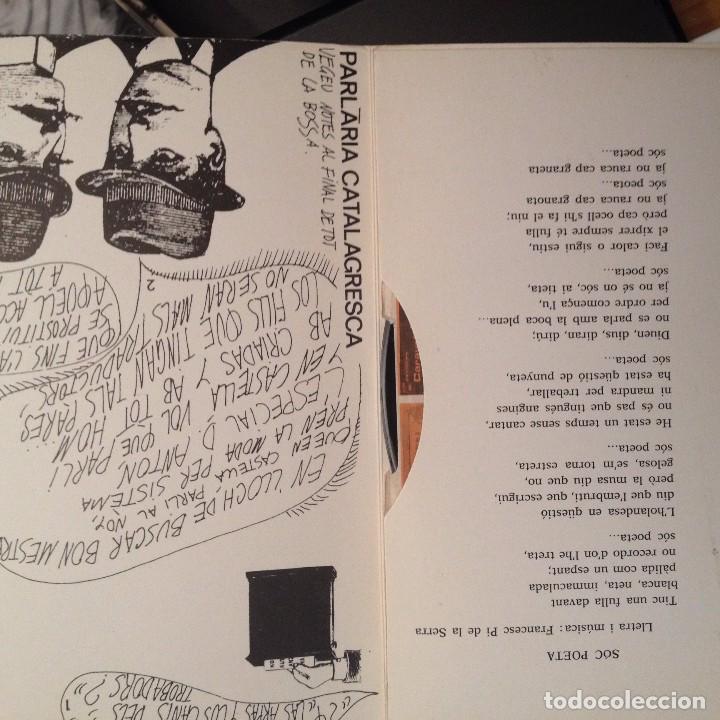 Discos de vinilo: FRANCESC PI DE LA SERRA: Soc el millor/Soc poeta SG Discophon 1969 Jordi Fornas - Foto 2 - 62657924